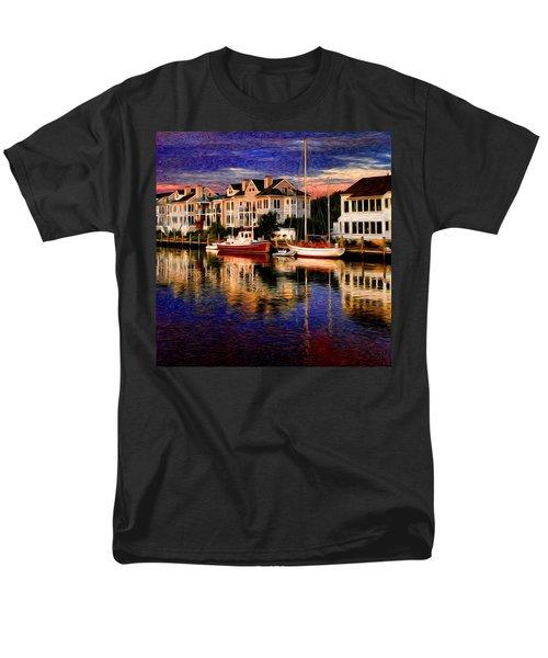 Mystic Ct Men's T-Shirt  (Regular Fit) by Sabine Jacobs
