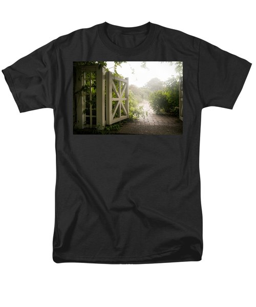 Mystic Garden - A Wonderful And Magical Place Men's T-Shirt  (Regular Fit) by Gary Heller