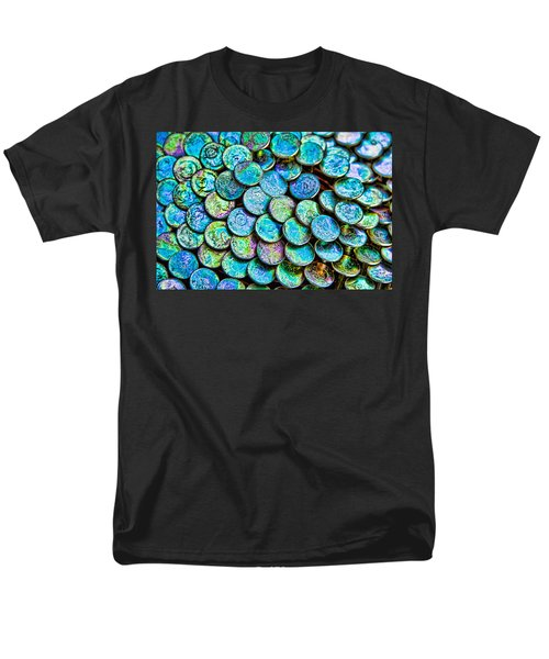 Men's T-Shirt  (Regular Fit) featuring the photograph Roofing Nails by Vizual Studio