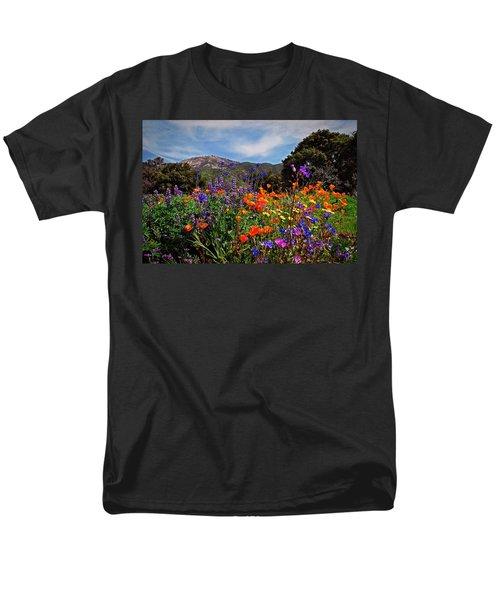Men's T-Shirt  (Regular Fit) featuring the photograph Nature's Bouquet  by Lynn Bauer