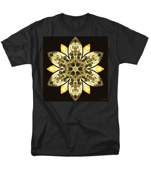 Nature's Mandala 57 Men's T-Shirt  (Regular Fit)