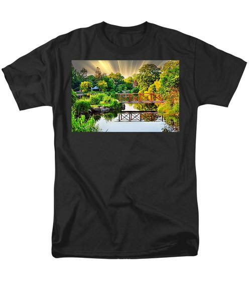 Men's T-Shirt  (Regular Fit) featuring the photograph Nature's Reflections by Judy Palkimas