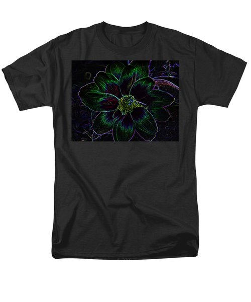 Men's T-Shirt  (Regular Fit) featuring the photograph Neon Glow by Aimee L Maher Photography and Art Visit ALMGallerydotcom