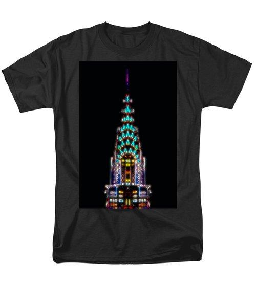 Neon Spires Men's T-Shirt  (Regular Fit)