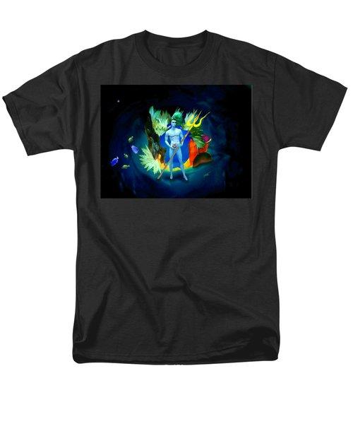 Neptune/poseidon Men's T-Shirt  (Regular Fit) by Steed Edwards