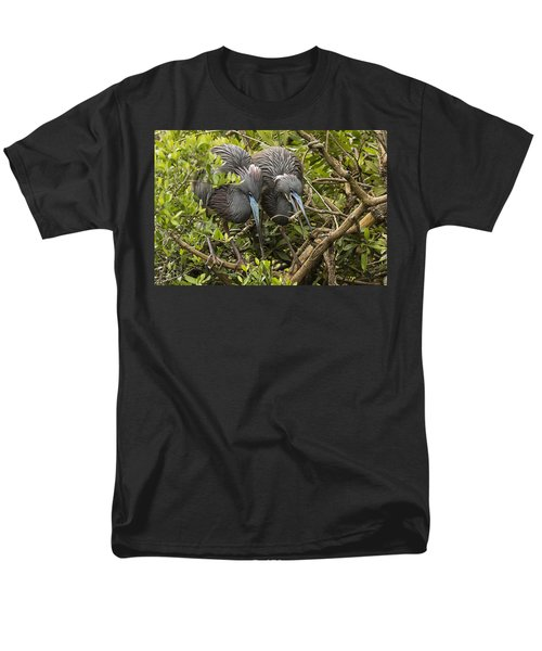 Men's T-Shirt  (Regular Fit) featuring the photograph Nest Building by Priscilla Burgers