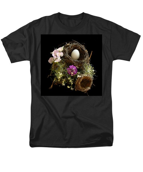 Men's T-Shirt  (Regular Fit) featuring the photograph Nest Egg by Barbara St Jean