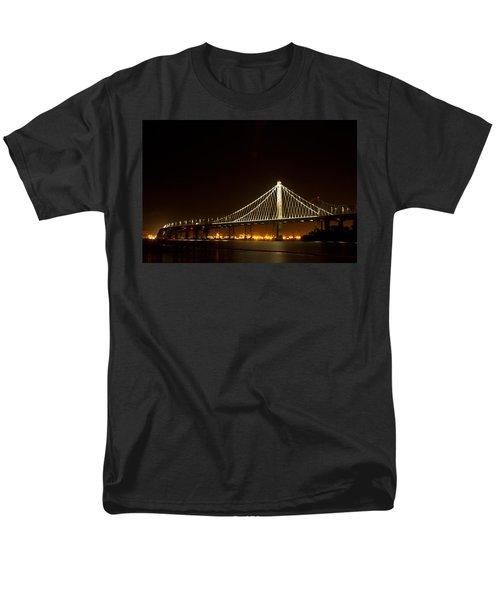 New Bay Bridge Men's T-Shirt  (Regular Fit) by Bill Gallagher