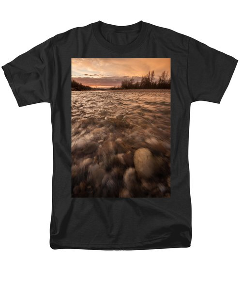 Men's T-Shirt  (Regular Fit) featuring the photograph New Dawn by Davorin Mance