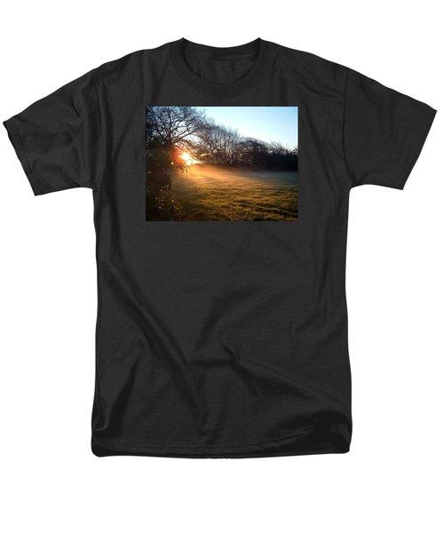 New Dawn Fades Men's T-Shirt  (Regular Fit) by Richard Brookes