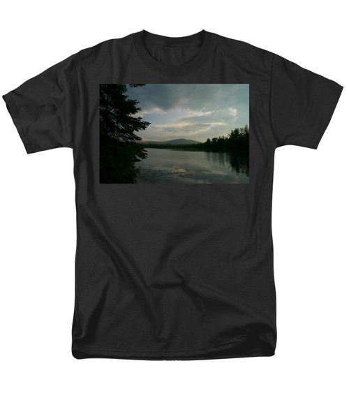 Men's T-Shirt  (Regular Fit) featuring the photograph New Morning On Lake Umbagog  by Neal Eslinger