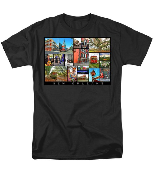 New Orleans Men's T-Shirt  (Regular Fit) by Steve Harrington