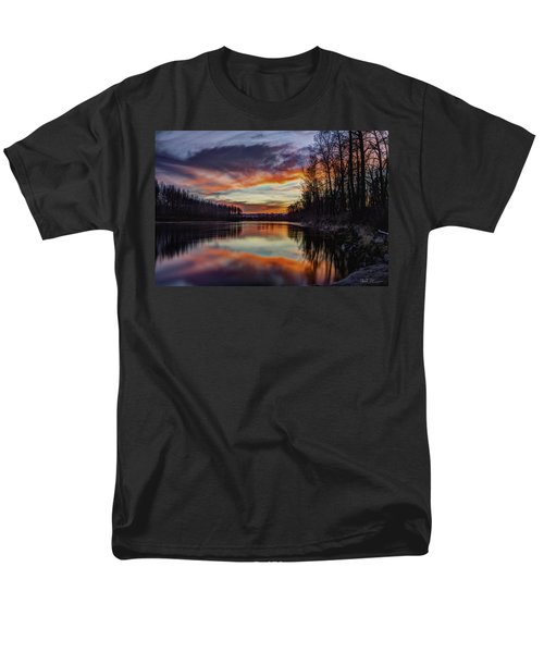 New Years Eve Sunset Men's T-Shirt  (Regular Fit)