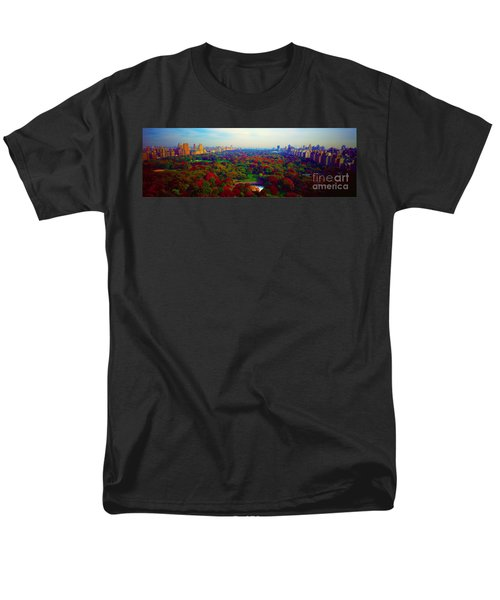 New York City Central Park South Men's T-Shirt  (Regular Fit) by Tom Jelen