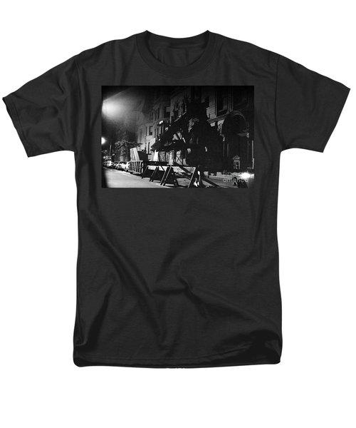 Men's T-Shirt  (Regular Fit) featuring the photograph New York City Street by Steven Macanka