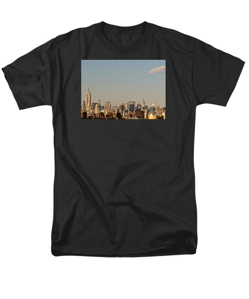 Men's T-Shirt  (Regular Fit) featuring the photograph New York City Skyline by Kerri Farley