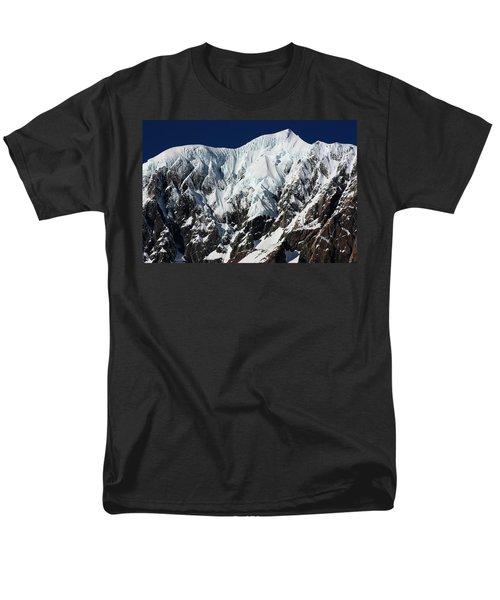 New Zealand Mountains Men's T-Shirt  (Regular Fit) by Amanda Stadther