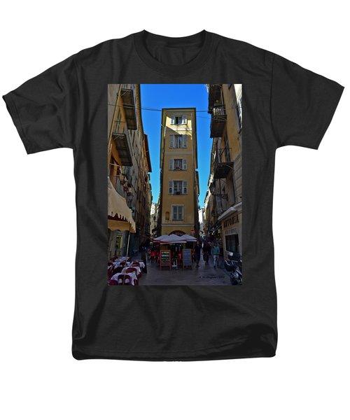 Nice - La Maison Men's T-Shirt  (Regular Fit) by Allen Sheffield