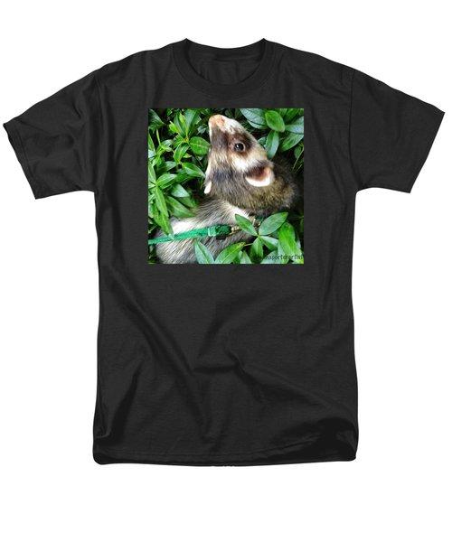 Nicky In The Garden Men's T-Shirt  (Regular Fit) by Anna Porter