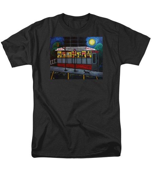 Night At An Arlington Diner Men's T-Shirt  (Regular Fit) by Victoria Lakes
