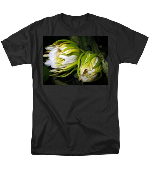 Night Blooming Cereus 31 Men's T-Shirt  (Regular Fit) by Dawn Eshelman