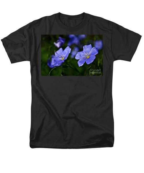 Men's T-Shirt  (Regular Fit) featuring the photograph Night Garden by Linda Bianic