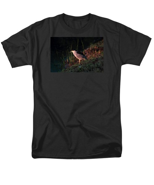 Night Heron  Men's T-Shirt  (Regular Fit) by Duncan Selby