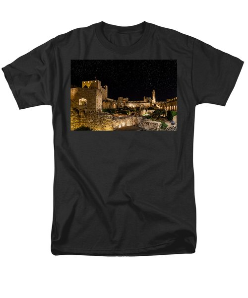 Night In The Old City Men's T-Shirt  (Regular Fit) by Alexey Stiop
