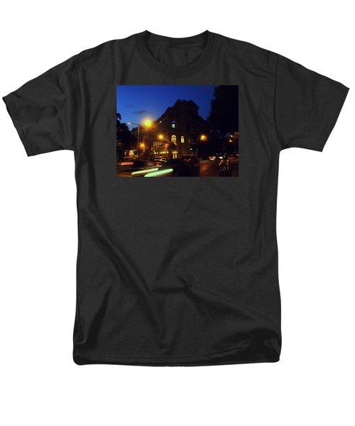 Men's T-Shirt  (Regular Fit) featuring the photograph Night View by Salman Ravish