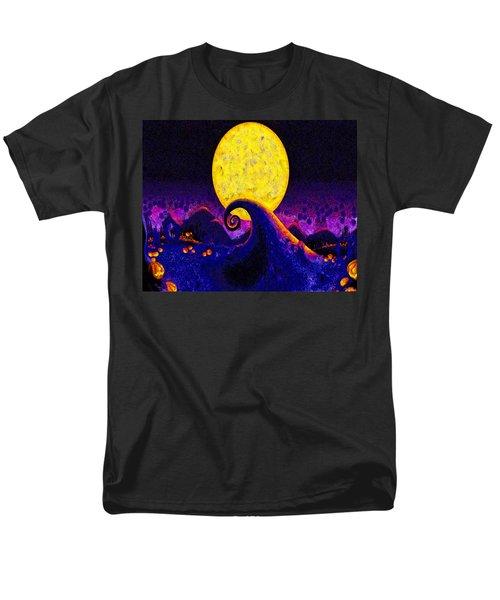 Nightmare Before Christmas Men's T-Shirt  (Regular Fit) by Joe Misrasi