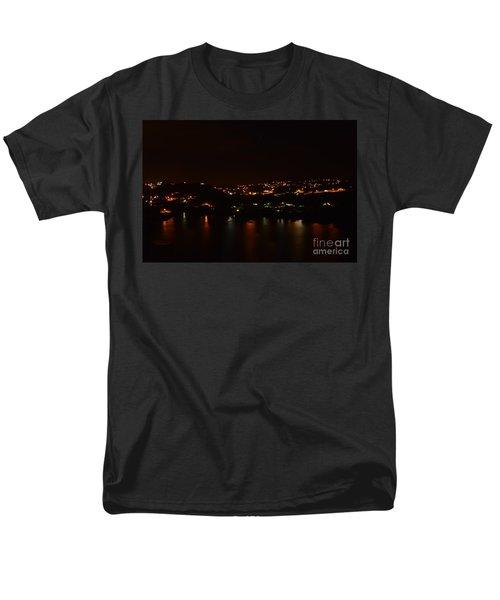Nightscape Men's T-Shirt  (Regular Fit)