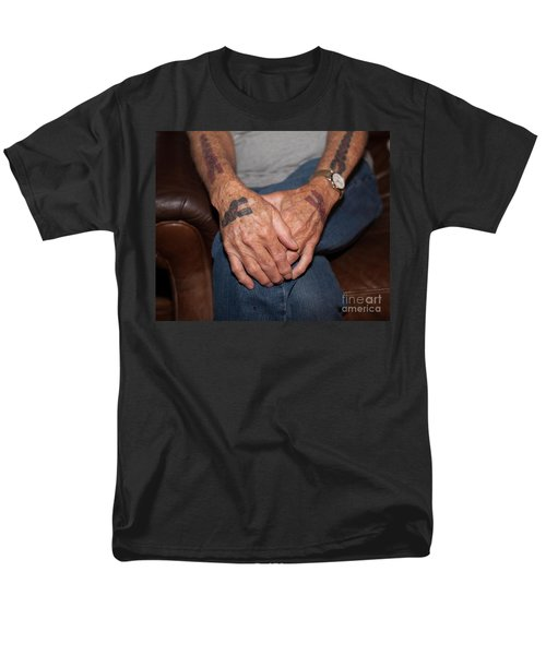 Men's T-Shirt  (Regular Fit) featuring the photograph No Age Limit by Roselynne Broussard