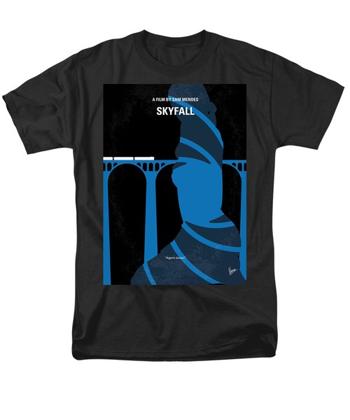 No277-007-2 My Skyfall Minimal Movie Poster Men's T-Shirt  (Regular Fit) by Chungkong Art