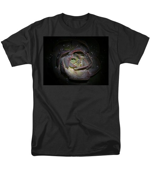 Men's T-Shirt  (Regular Fit) featuring the photograph Nocturnal Diamonds by Evelyn Tambour