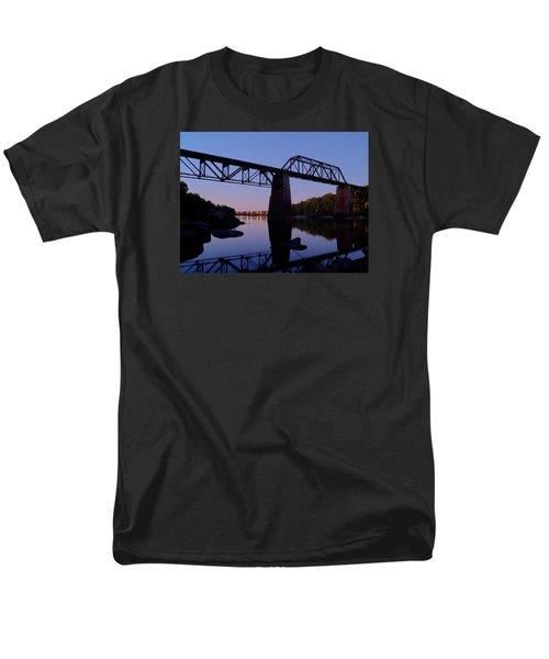 Norfolk-southern Crossing-1 Men's T-Shirt  (Regular Fit) by Charles Hite