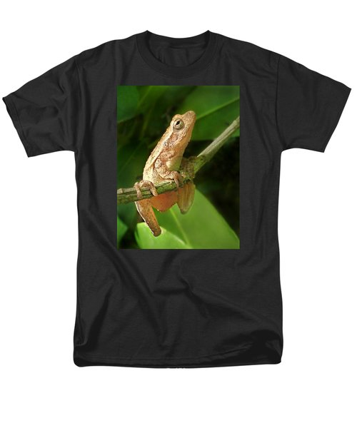 Men's T-Shirt  (Regular Fit) featuring the photograph Northern Spring Peeper by William Tanneberger