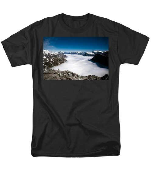 Norway In The Clouds Men's T-Shirt  (Regular Fit) by Bill Howard