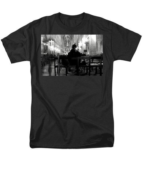 Men's T-Shirt  (Regular Fit) featuring the photograph Notre-dame Paris by Danica Radman