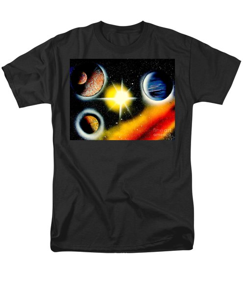 Men's T-Shirt  (Regular Fit) featuring the painting Nova 4671 E by Greg Moores