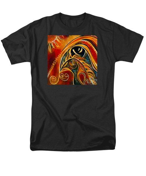 Men's T-Shirt  (Regular Fit) featuring the painting Nurturer Spirit Eye by Deborha Kerr