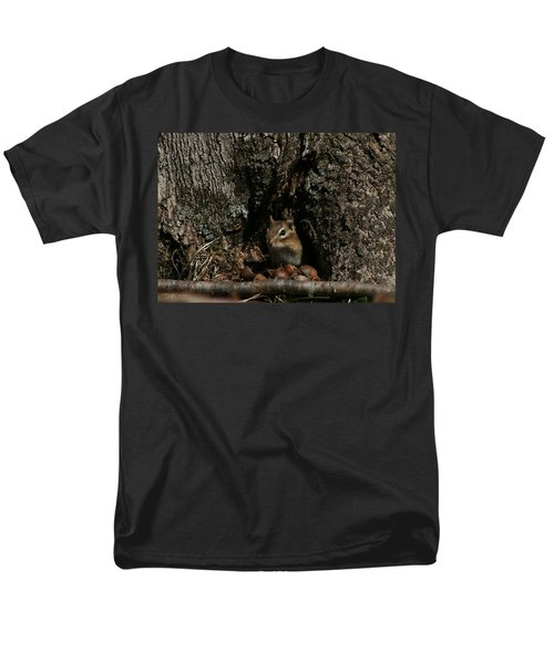 Men's T-Shirt  (Regular Fit) featuring the photograph Nut Therapy  by Neal Eslinger