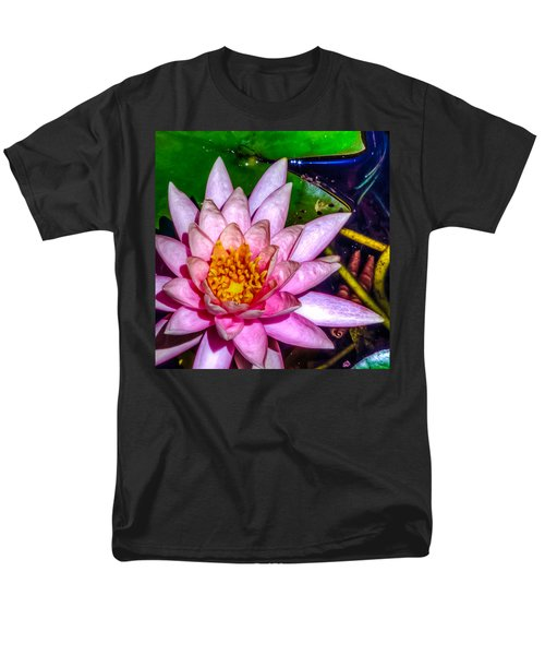 Men's T-Shirt  (Regular Fit) featuring the photograph Nymphaeaceae by Rob Sellers