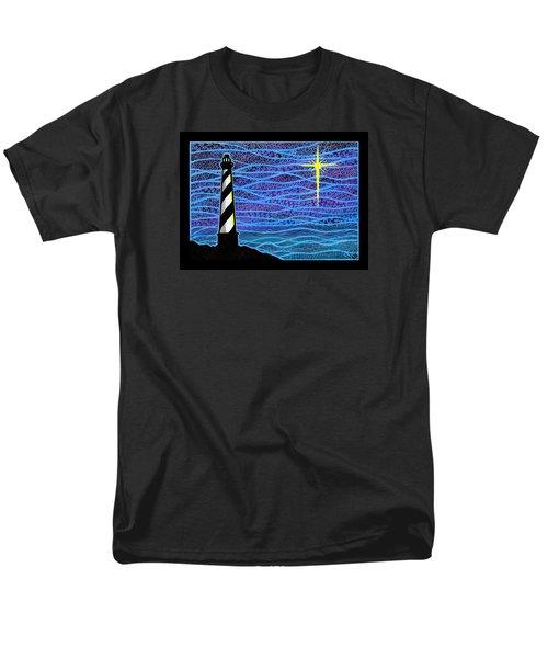 O Holy Night Hatteras Men's T-Shirt  (Regular Fit) by Jim Harris