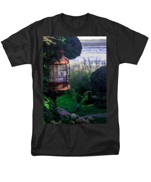 Oceanside Lantern Men's T-Shirt  (Regular Fit) by Patrice Zinck