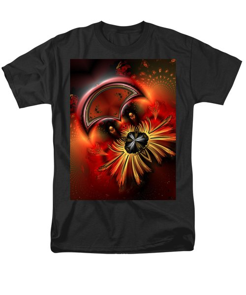 Ocf 199 Fido In Abstract Men's T-Shirt  (Regular Fit) by Claude McCoy