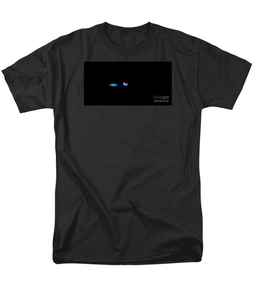 October 2014 Partial Solar Eclipse Men's T-Shirt  (Regular Fit) by Angela J Wright