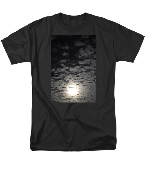 Men's T-Shirt  (Regular Fit) featuring the pyrography October Moon by Joel Loftus