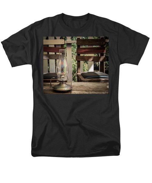Oil Lamp 2 Men's T-Shirt  (Regular Fit) by Gandz Photography