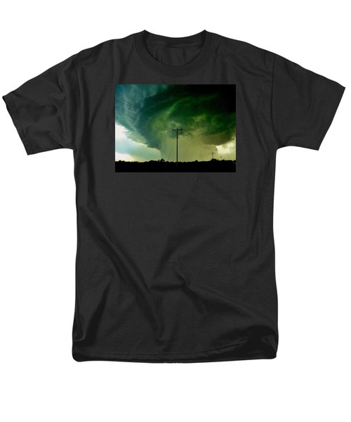 Oklahoma Mesocyclone Men's T-Shirt  (Regular Fit) by Ed Sweeney