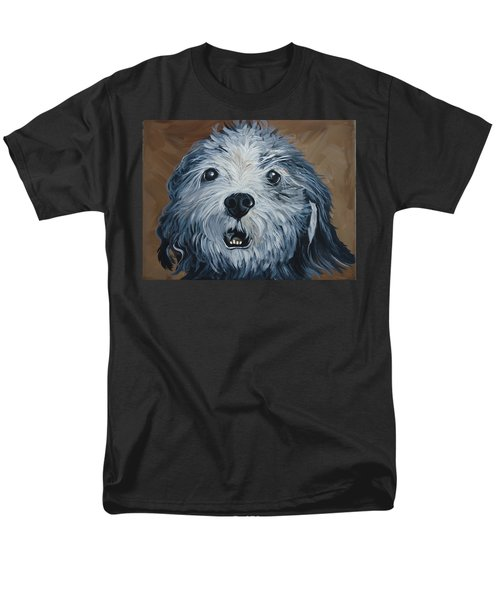 Old Dogs Are The Best Dogs Men's T-Shirt  (Regular Fit) by Leslie Manley